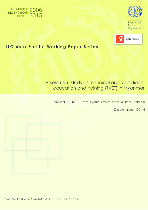 PDF) Assessment study of technical and vocational education and