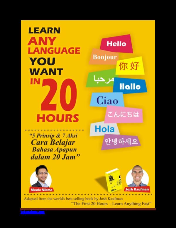PDF) Learn Any Language You Want in 20 Hours | Icha Razki