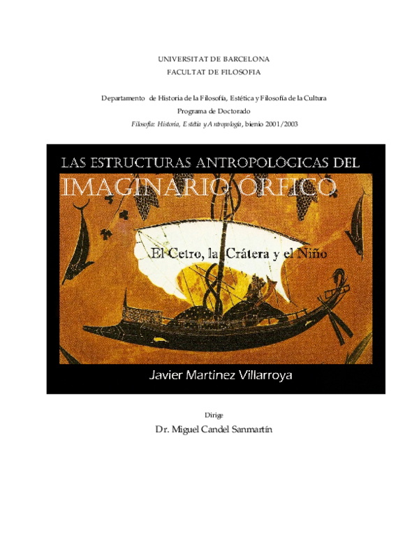 215db752f PDF) Las estructuras antropológicas del imaginario órfico. El cetro ...