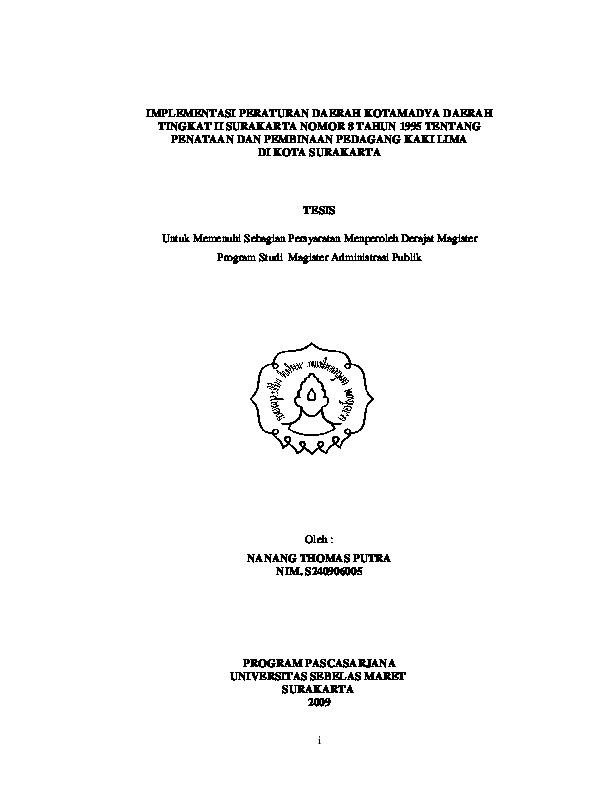 Pdf Contoh Skripsi Implementasi Pkl Lasionel Mensia Academia Edu