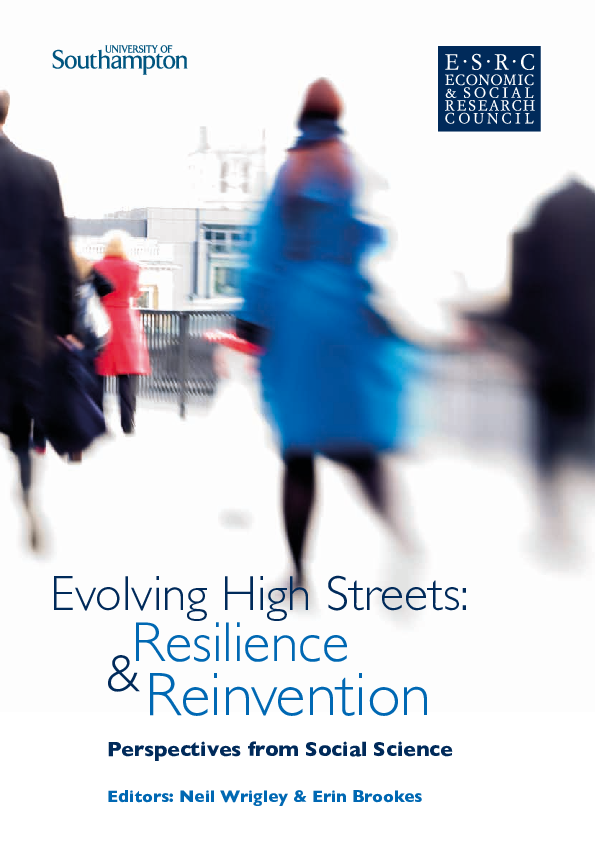 PDF) Managing town centres during the crisis – from retail