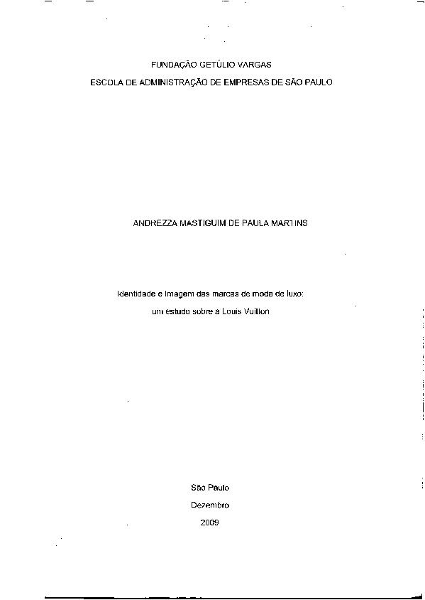 3f222f6d5 PDF) Identidade e Imagem das marcas de moda de luxo  um estudo sobre ...