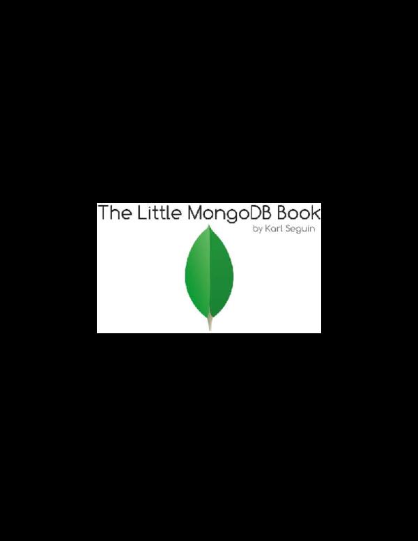 PDF) MongoDB | Osiris Germosen - Academia edu
