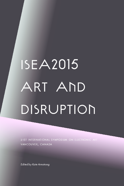 PDF) Art and Disruption | Kate Armstrong - Academia edu