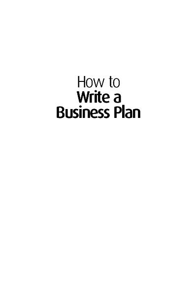 Pdf Brian Finch How To Write A Business Plan Creati Book Fi Org Sutan Abdurrahman Academia Edu