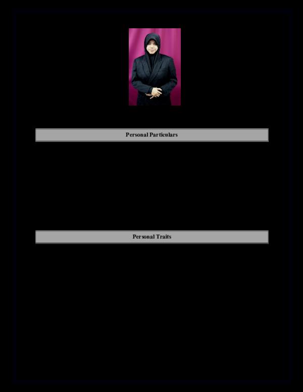 Doc Resume For Internship Student Akmar Hidayatul Akmar