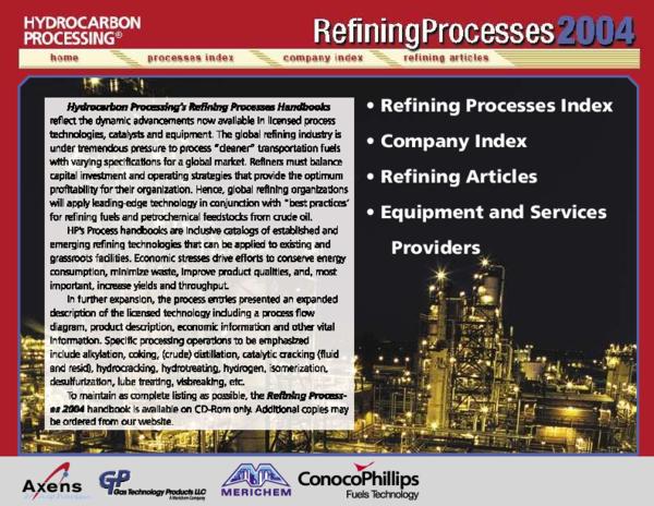 PDF) 2004 Refining Processes Handbook | khurram Shahzad