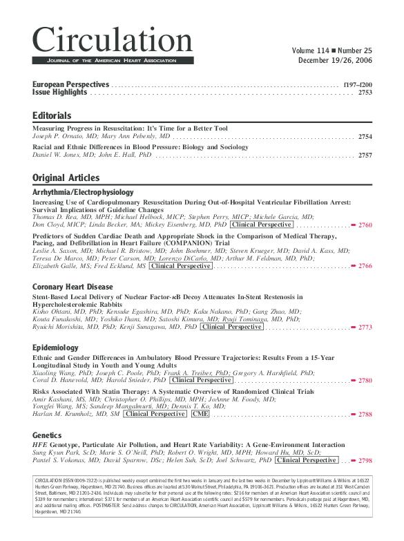 PDF) Predictors of Sudden Cardiac Death and Appropriate