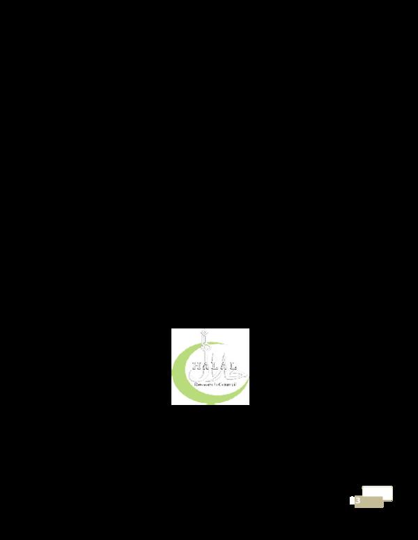 DOC) Halal food production | Ali Naqi - Academia edu