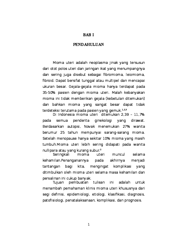 Doc 165312275 Mioma Uteri Junerawati Sinaga Academia Edu