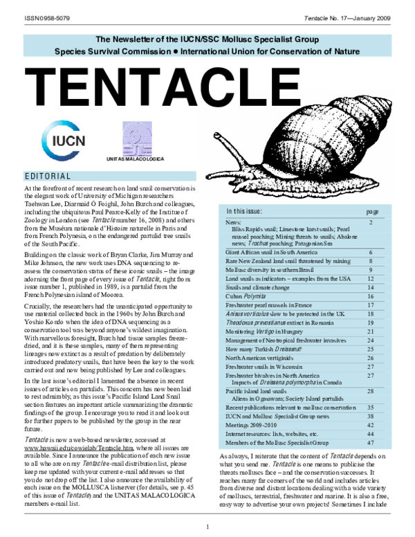 PDF) Into the Andes: three new introductions of Lissachatina