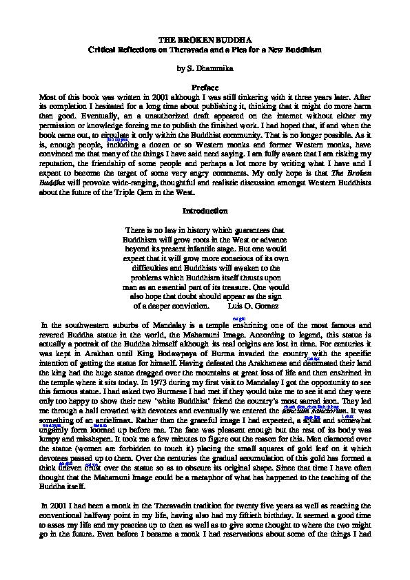 PDF) Brokenbuddhanew | Tham Tham - Academia edu