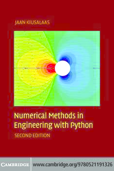 PDF) Numerical Methods in Engineering with Python, Second Edition