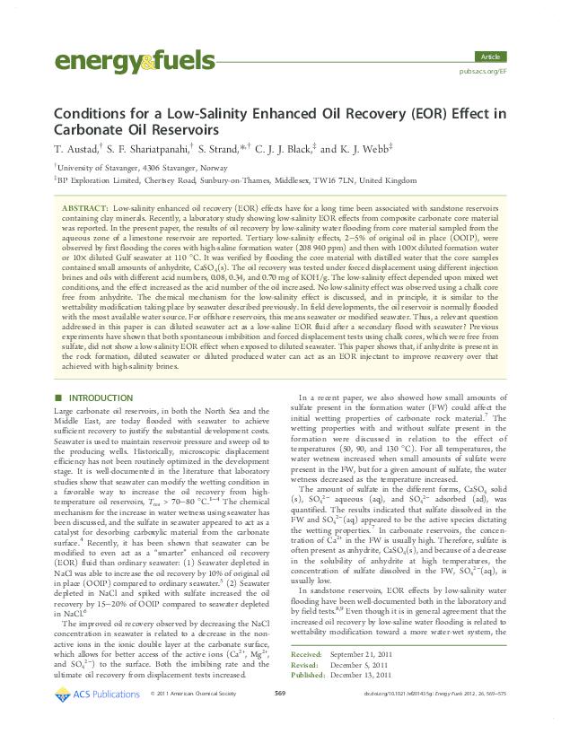 Exploration for Carbonate Petroleum Reservoirs