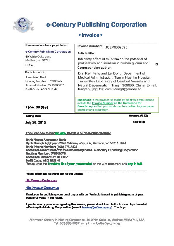PDF) Invoice IJCEP0009895 (00000003) | Tony dong - Academia edu