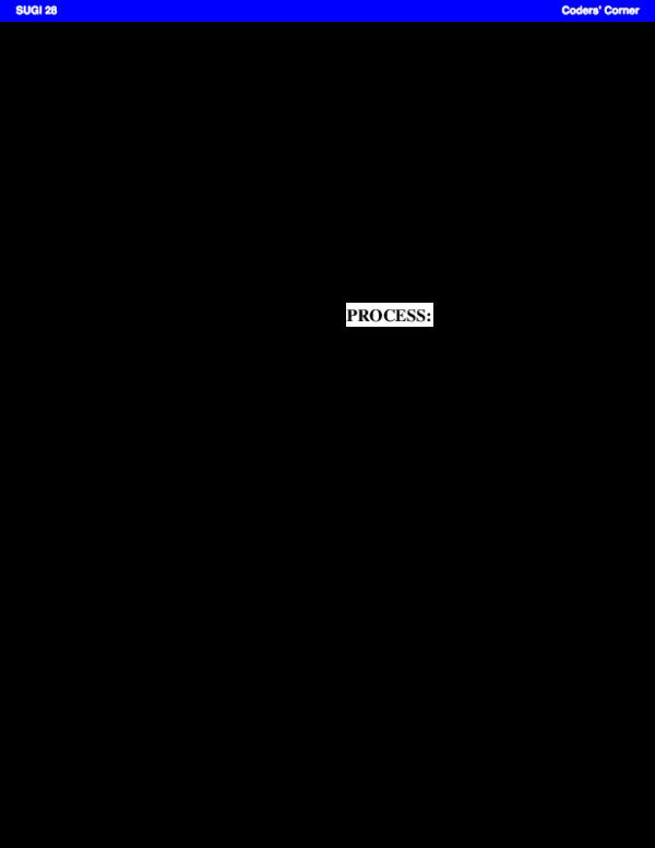 PDF) SUGI 28: Renaming All Variables in a SAS(r) Data Set