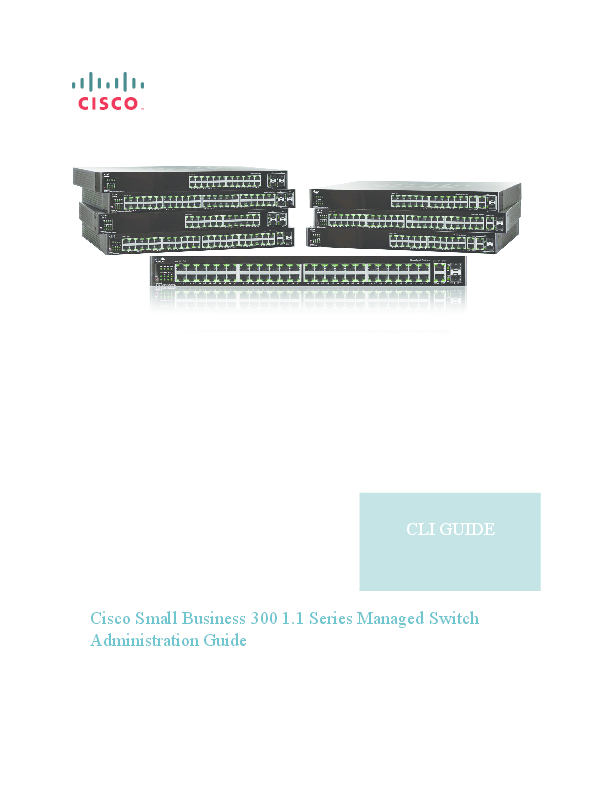 PDF) Cisco Small Business 300 Series Command Line Interface