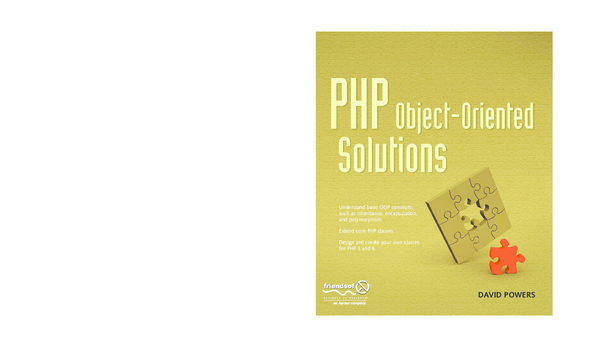 PDF) PHP Object Oriented Solutions | Son Tran - Academia edu