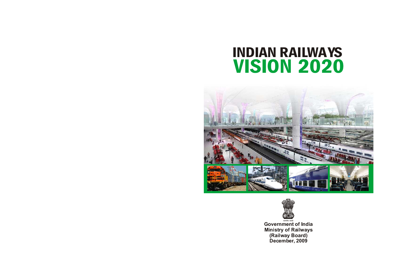 PDF) Railways Vision Document 2020 | NaveenTeja Alavala