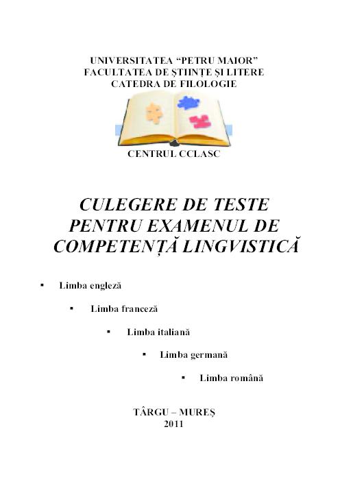 teste engleza juridica investments