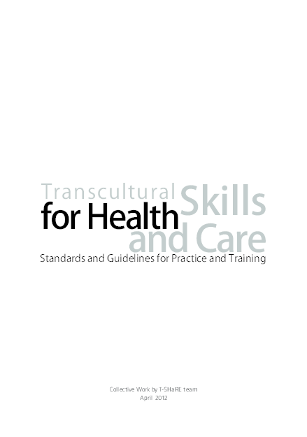 (PDF) TRANSCULTURAL SKILLS FOR HEALTH AND CARE. Standards