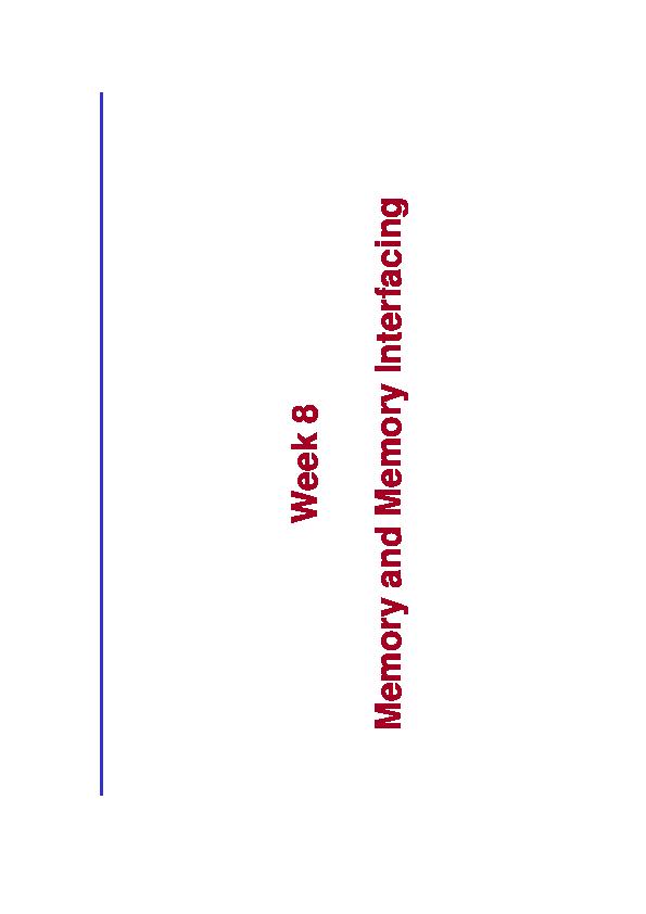 PDF) Memory Interfacing in 8086   Tufail Abbas - Academia edu