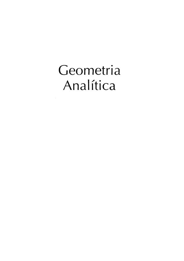 Geometria Analitica Reis E Silva Pdf