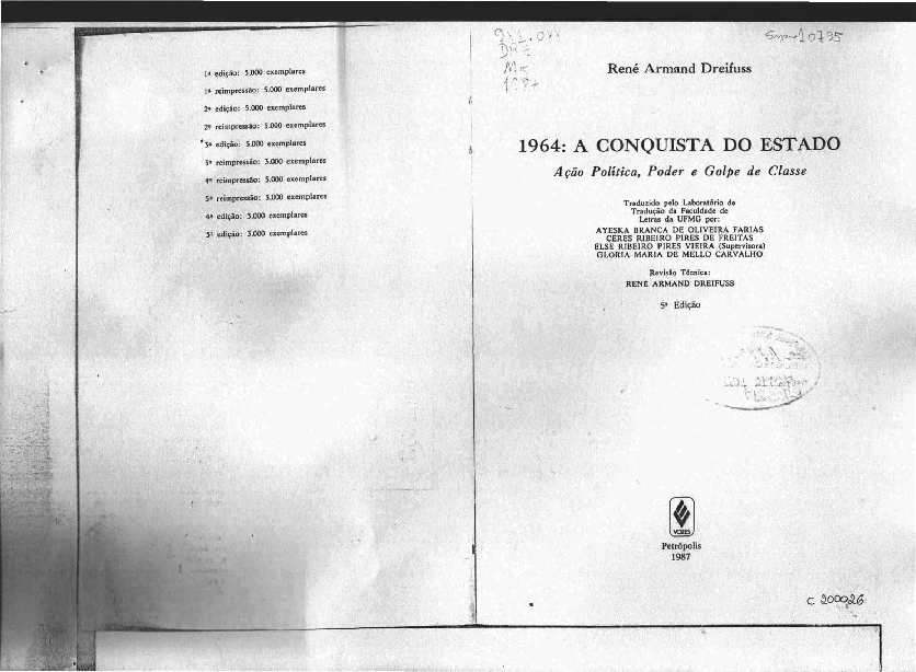 Estado do pdf conquista a 1964