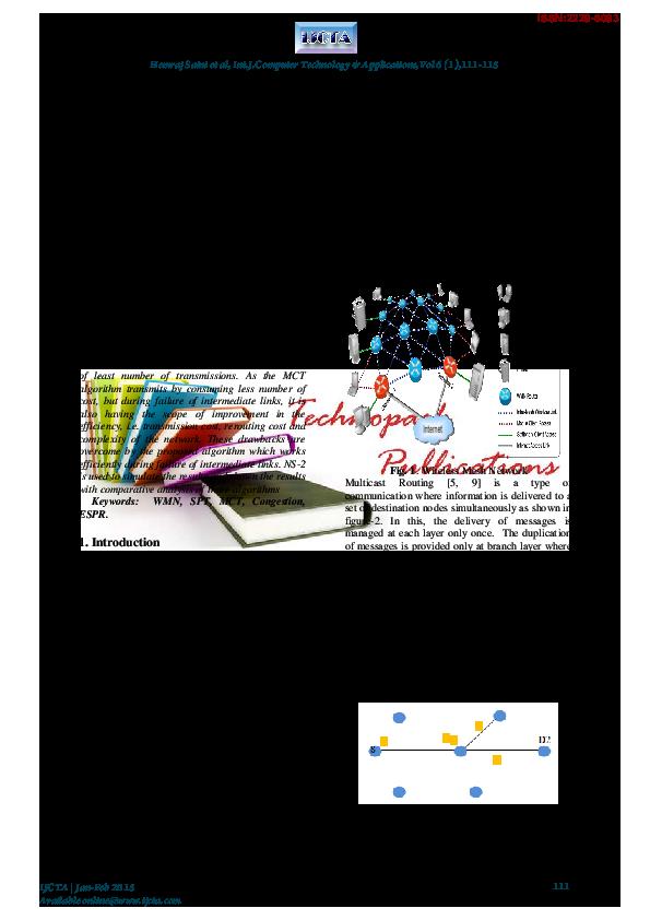 PDF) Efficient Shortest Path Routing (ESPR) Algorithm for
