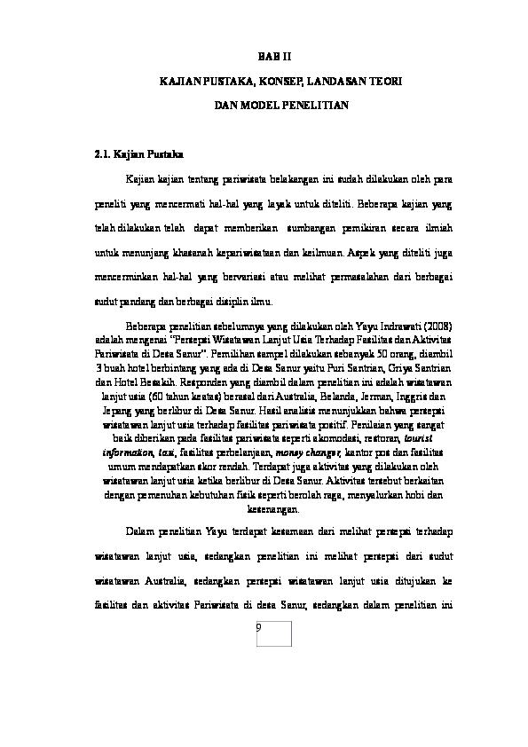 Pdf Contoh Landasan Teori Penelitian Wisata Malam Bali Andre Daniel Napitupulu Academia Edu