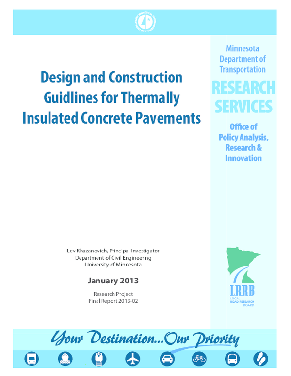 PDF) DESIGN AND CONSTRUCTION GUIDELINES FOR THERMALLY