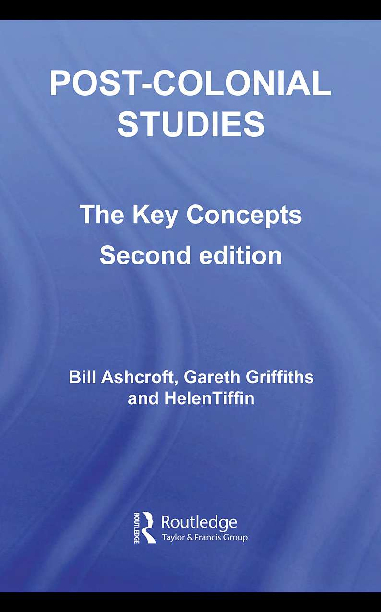 PDF) Post-Colonial Studies: The Key Concepts, Second Edition