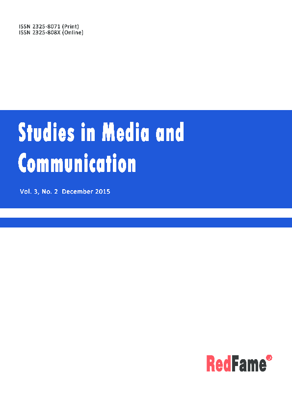 Studies in Media and Communication 282272458