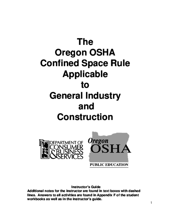 PDF) Confined Space Safety Instructors Guide   Anar Hafizzade