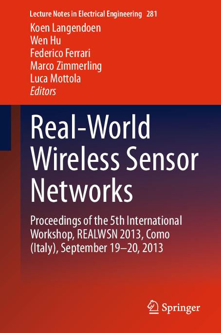 PDF) Real World Wireless Sensor Networks | Umesh Mahind - Academia edu