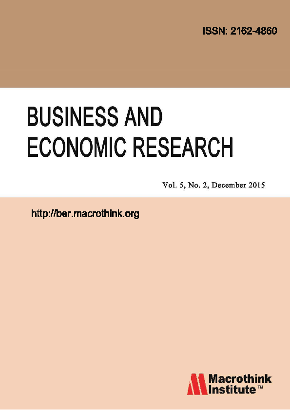 PDF) Business and Economic Research: Vol  5, No  2, December 2015