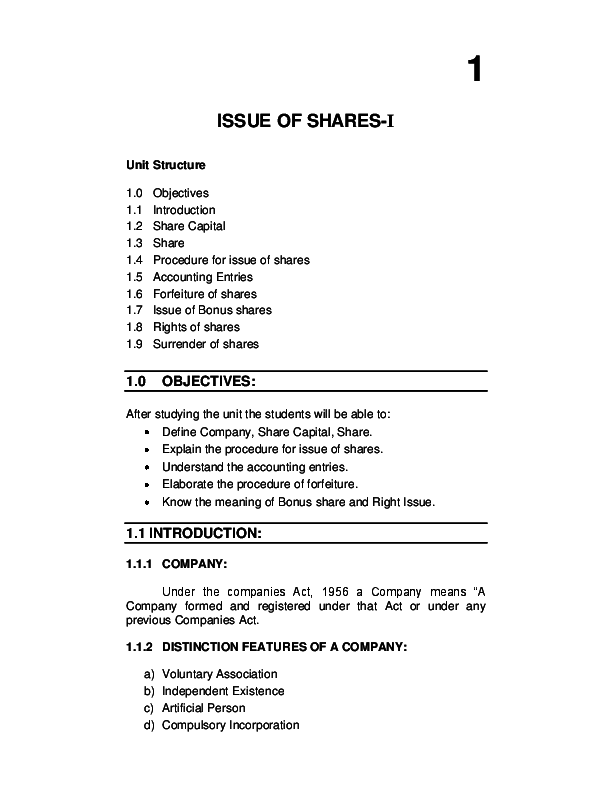 PDF) Issue of shares  | Khalmoma Amomlahk - Academia edu