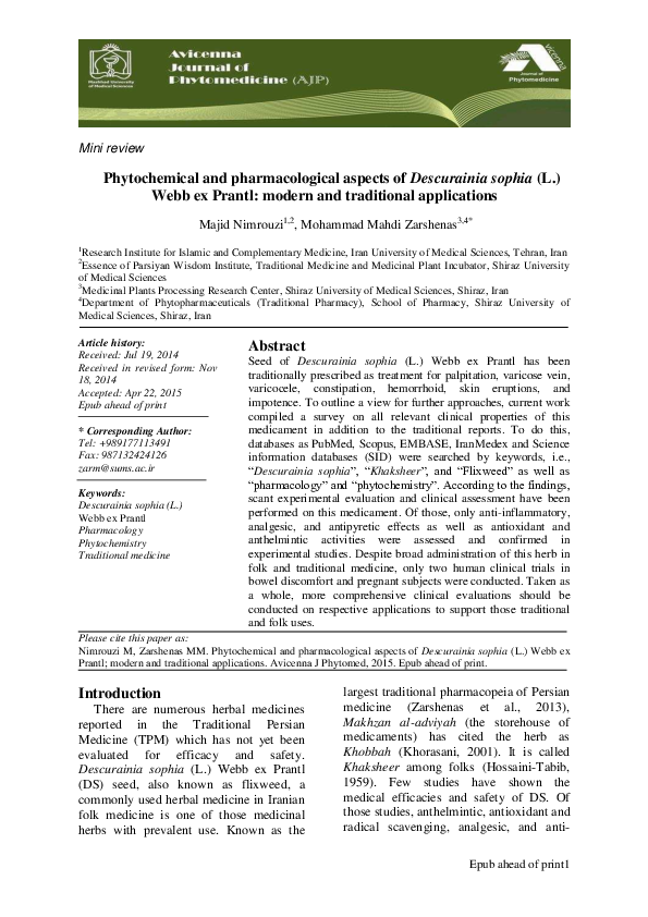 medicament antihelmintic modern