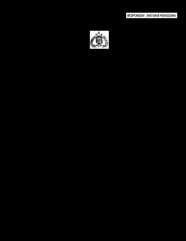 PDF) Kuisioner Instansi Pengguna | Direktorat Pengaman - Academia.edu