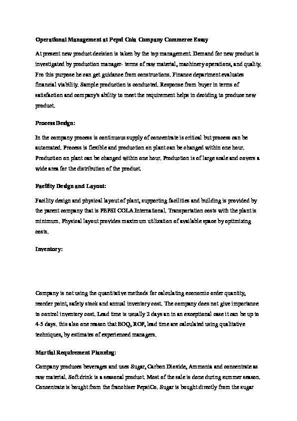 DOC) pepsi | korn kunthea - Academia edu