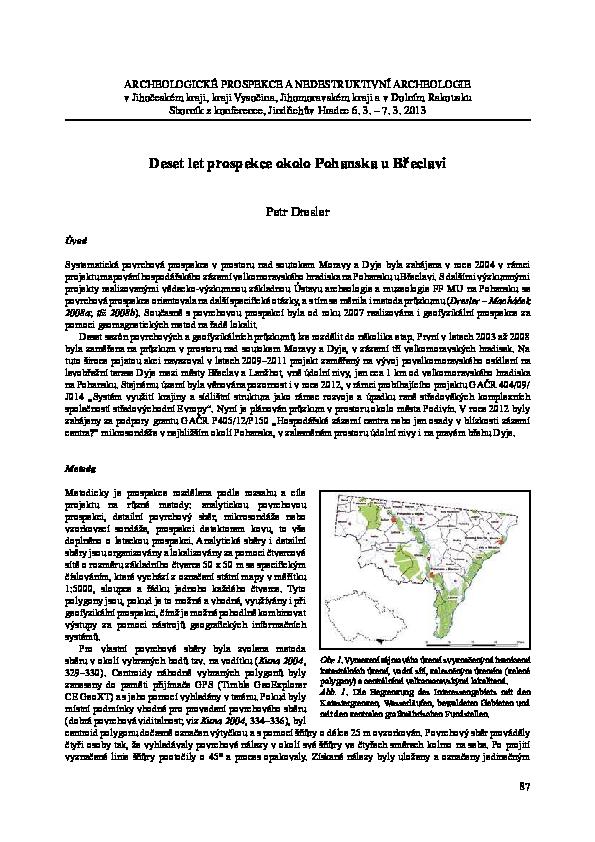 Datování jižní vysočiny