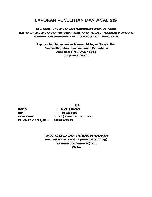 Doc Laporan Penelitian Dan Analisis Guma Lembah Amugidna Habmel