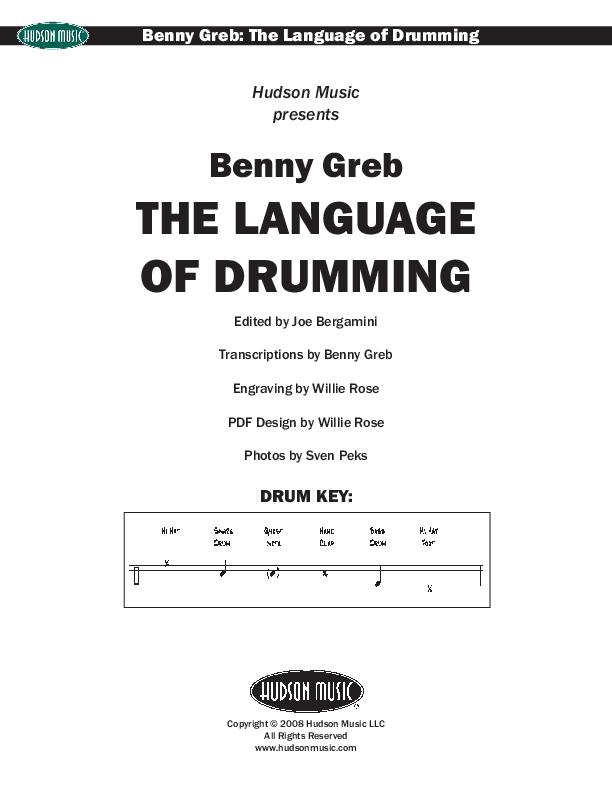 PDF) Benny Greb The Language of Drumming pdf | Yusuf KÖKDEN