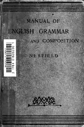 cbf7dee8ee96 PDF) Manual of English grammar and composition