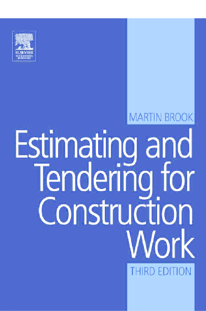PDF) Estimating and Tendering for Construction Work | Abdelqader