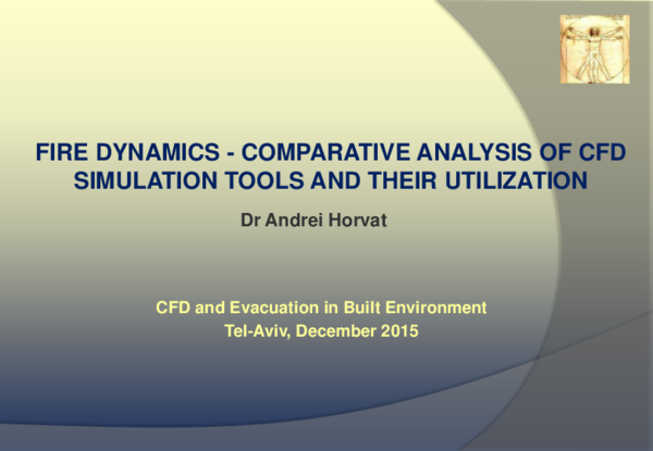PDF) Fire dynamics - comparative analysis of cfd simulation