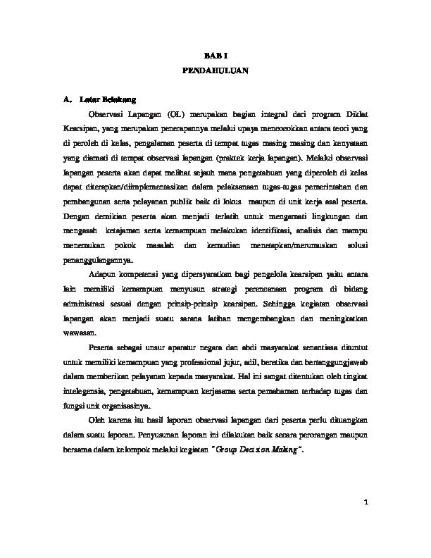 Pdf Observasi Lapangan Imma Ima Academia Edu
