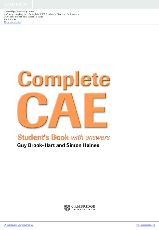 PDF) Complete-cae-advanced-students-book-with-answers-with-cd-rom