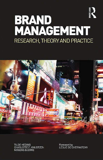 Pdf Brand Management Research Theory And Practice Denisa Podar Academia Edu