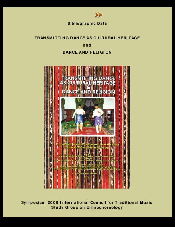 PDF) Bulgarian Folk Dance Group Performance in Tourist